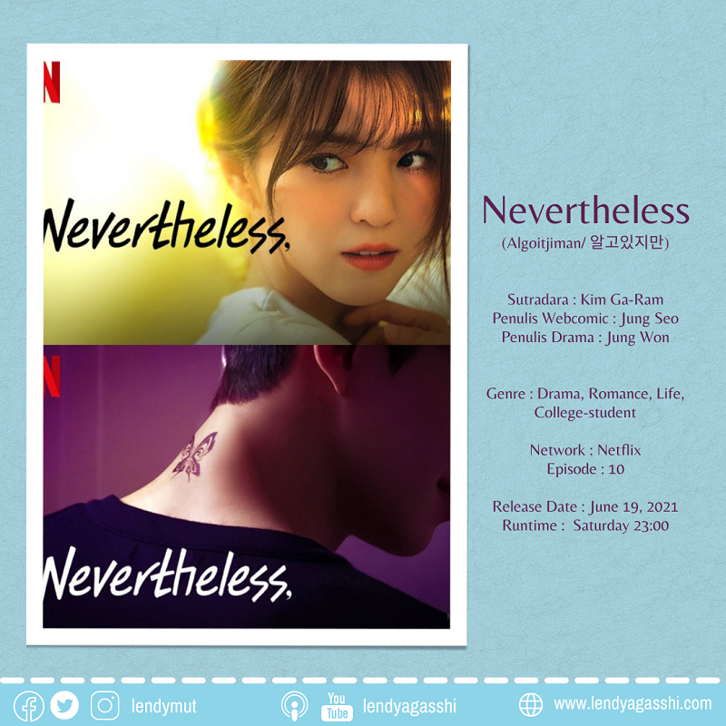 Review dan Sinopsis Drama Nevertheless. Song Kang, Han So Hee 2021