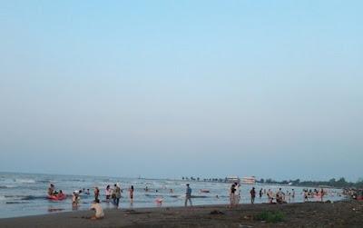Ini Penyebab Wisata Pantai Sari Lebih Ramai Dari Pantai Pasir Kencana Kota Pekalongan