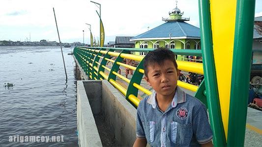 tepian sungai kapuas tanray 1