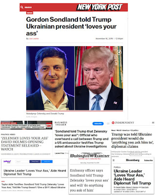 Zelensky loves your ass