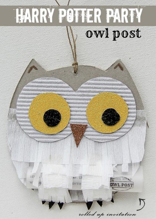 My Owl Barn DIY Harry Potter Party Owl Post