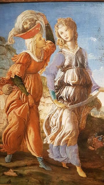 Le retour de Judith à Béthulie Botticelli & Lippi 1470 - Cincinnati