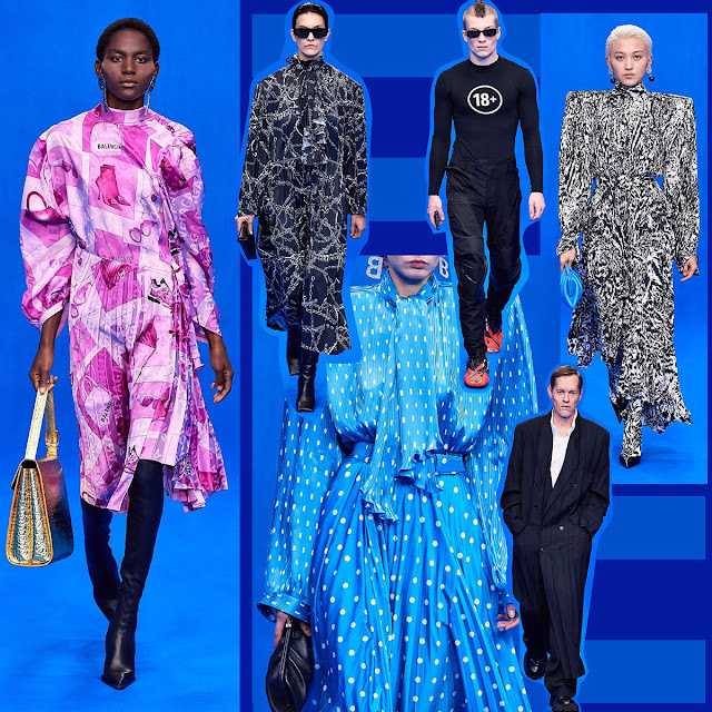 Balenciaga Spring Summer 2020 Paris Fashion Week by RUNWAY MAGAZINE