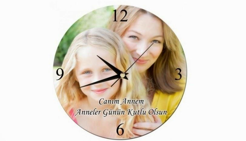 anneye_ozel_baskili_mesaj_yazilabilen_duvar_saati