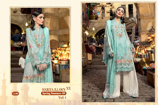 Shree Fab Mariya B Lawn Spring Summer 20 Vol 1 Nx pakistani Suits