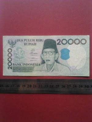 20000 rupiah tahun 1998