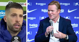 Alba reveals Barca players never doubted Koeman