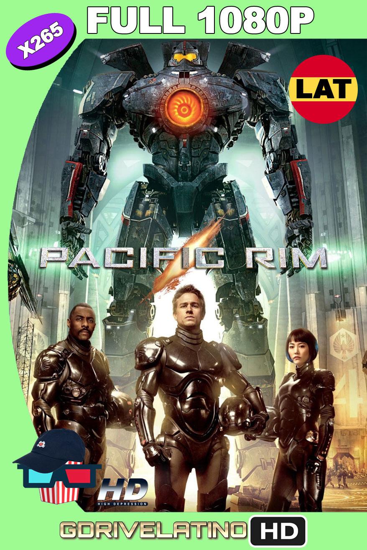 Titanes del Pacífico (2013) BDRip FULL 1080p H265 10Bits Latino-Ingles MKV