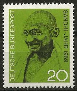 Germany 1969 Mahatma Gandhi