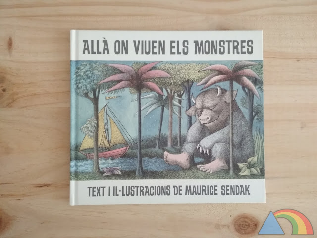 Portada del libro Donde viven los monstruos