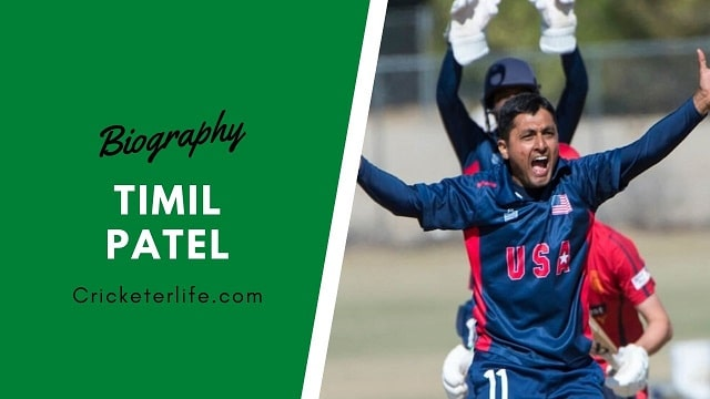 Timil Patel cricketer Profile, age, height, stats, wife, etc.