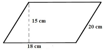 Contoh Soal Matematika Kelas 4 SD - Luas dan Keliling Jajar Genjang