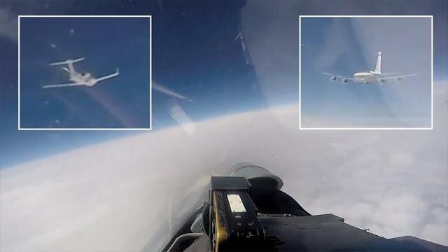 Rusia intercepta aviones espía de EEUU y Suecia en mar Báltico