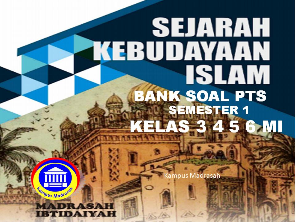 Bank Soal PTS SKI Semester 1 Kelas 3, 4, 5, 6 SD/MI
