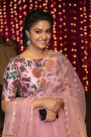 Keerthi Suresh Looks super cute in Designer Anarkali Dress at Zee Telugu Apsara Awards 2017 12.JPG
