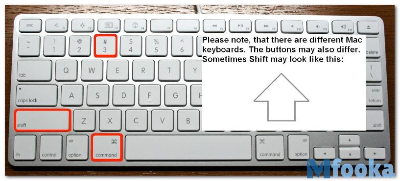 كيفية أخذ لقطة شاشة على Mac