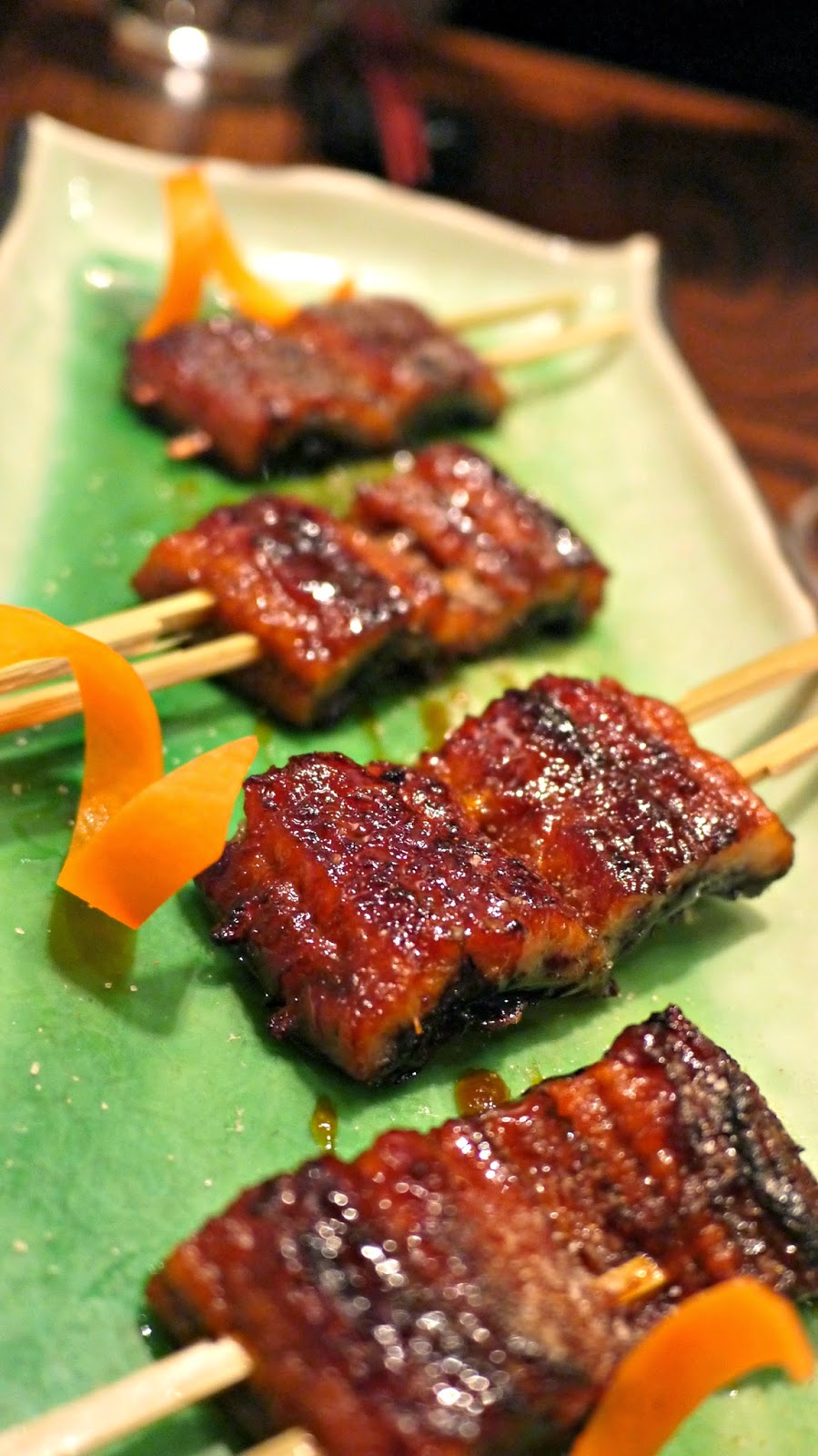 Chisou Japanese restaurant sea eel
