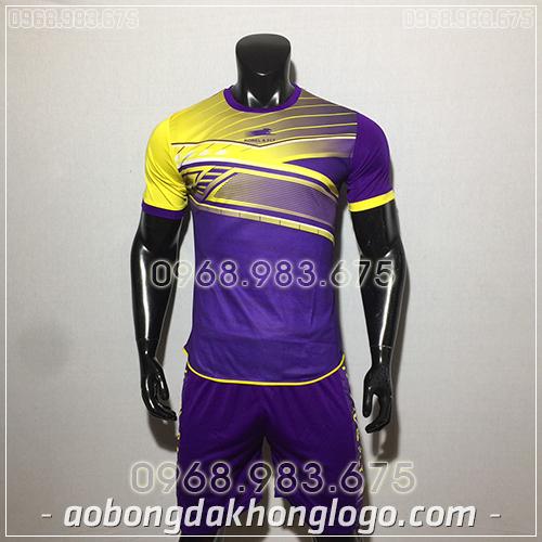 Áo bóng đá ko logo Zuka Korel màu tím