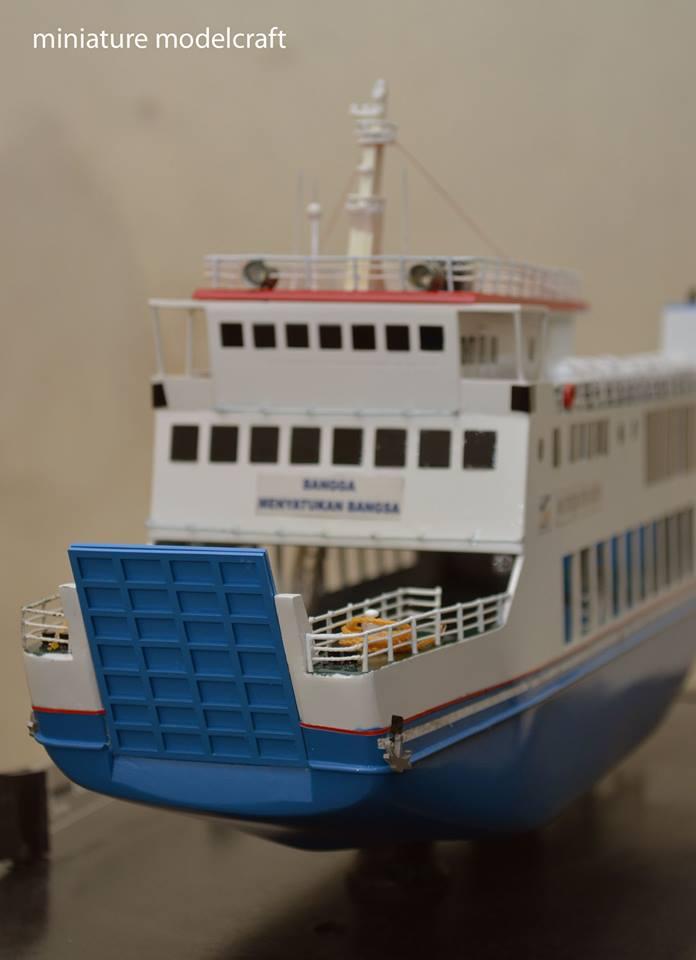 tempat jual miniatur kapal ferry kmp muria planet kapal