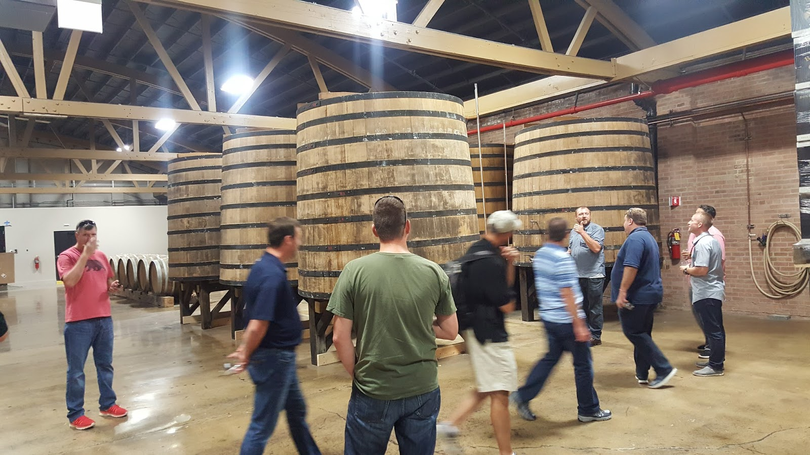 Goose Island Barrel Warehouse Parking