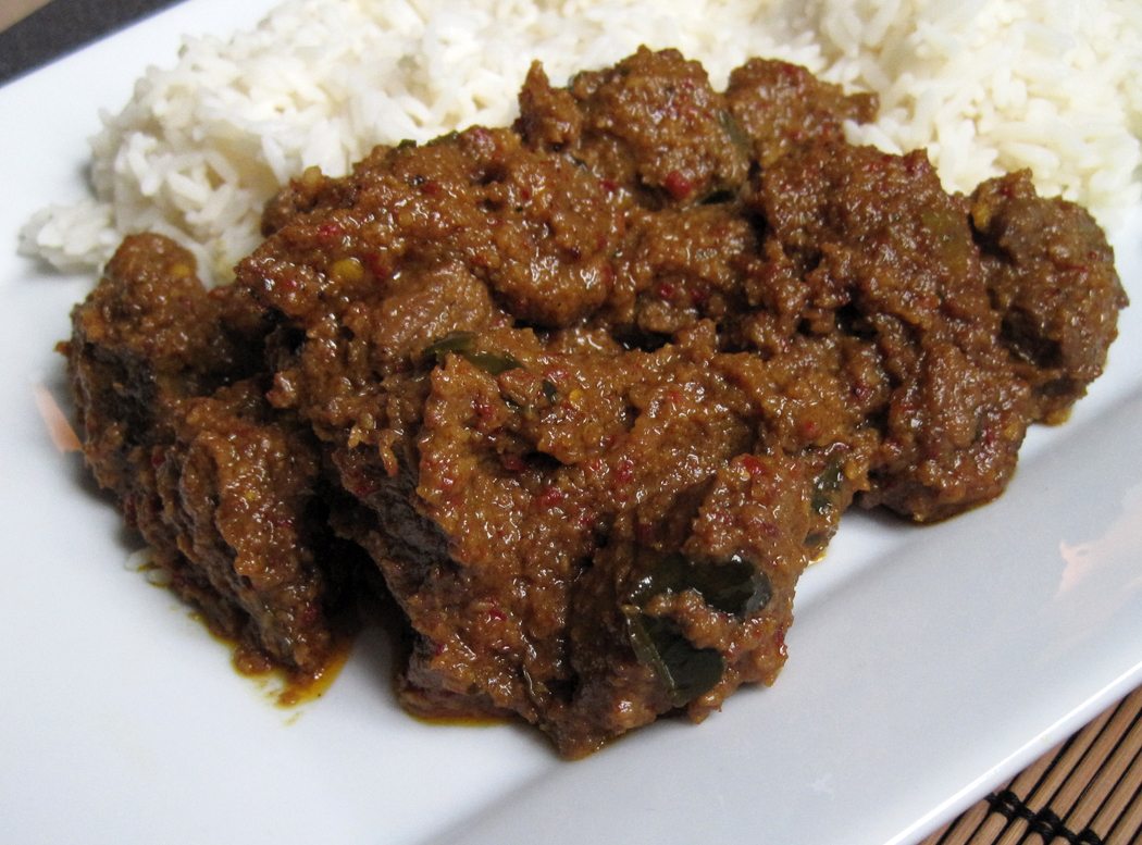 Beef Rendang - A Glug of Oil