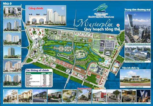 Quy hoạch tổng thể khu đô thị Ciputra