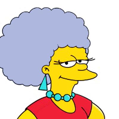 Los Simpson Personaje Patty Bouvier