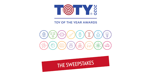 Take a look at the categories to check out the toy of the year finalists and cast your vote for a chance to be one of the Toy of the Year Award winners!