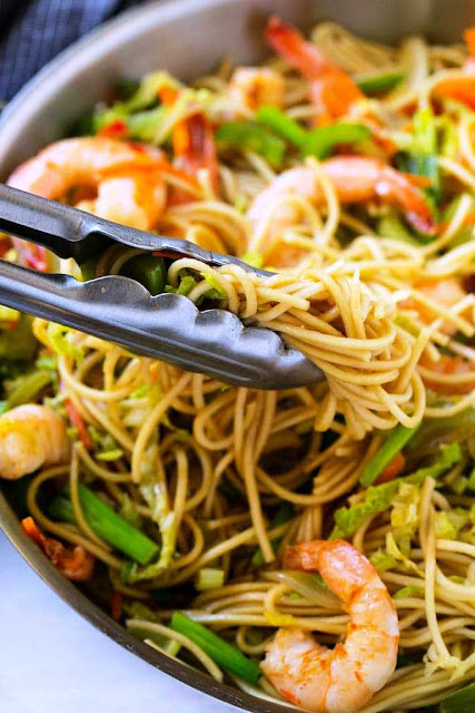 Shrimp Chow Mein -3