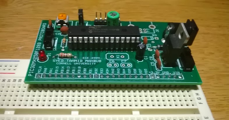 PIC32 Proto Board: Details, Schematic, PCB and Pictures 16