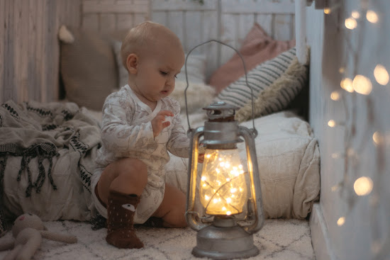 magiczne dzieciństwo lampki