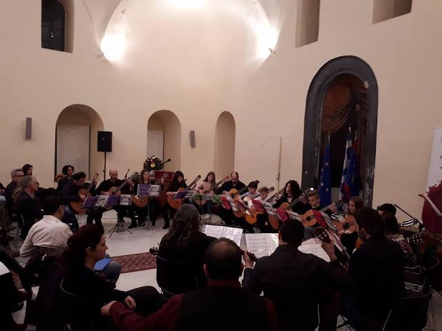 Η Κιθαριστική Ορχήστρα Πελοποννήσου την Παρασκευή 15 Μαρτίου στο Ναύπλιο