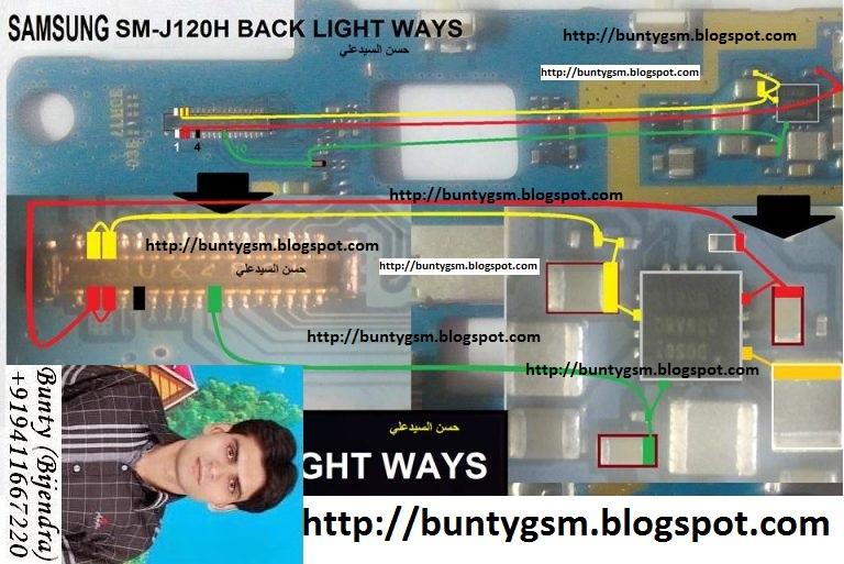 Samsung SM-J120H Display Light Ways Lcd Jumper Solution - IMET