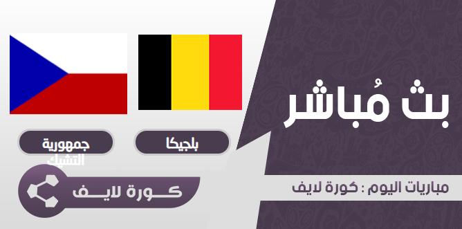 بلجيكا  وجمهورية التشيك