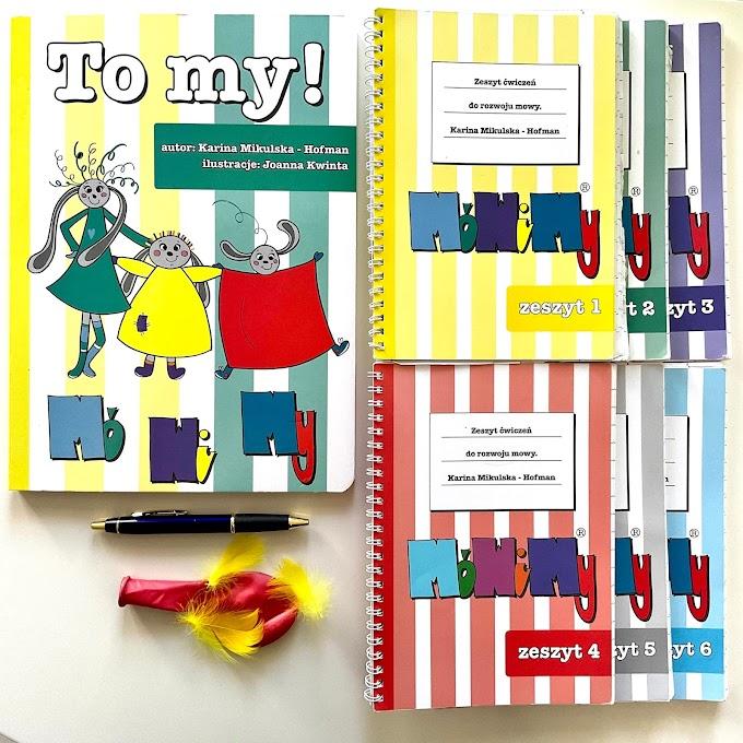 MóWiMy - zeszyty i pomoce do rozwoju mowy polskiej u małych dzieci