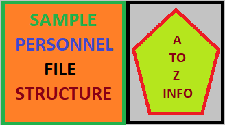 Sample Personnel File Structure