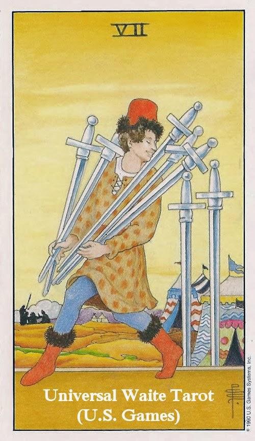7 of swords reversed relationship