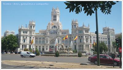 Madrid; Viagem Europa; Turismo na Espanha; Praça de Cibeles; Palácio de Cibeles;