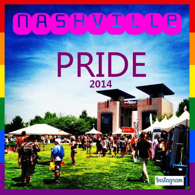 LGBT Gay Pride Festival Nashville, Tennessee June 14, 2014.