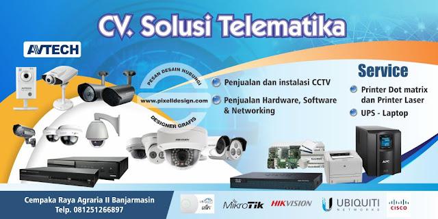 Iklan Banner Toko Alat Elektronik