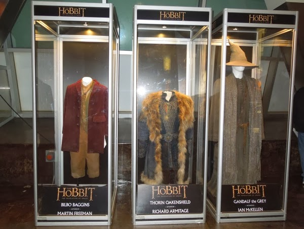 Hobbit 2 Desolation of Smaug movie costume exhibit