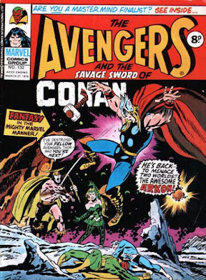 Marvel UK, Avengers #132, Arkon