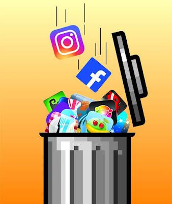 Uninstall Facebook, WhatsApp Instagram