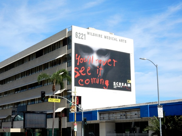 Giant Scream TV series billboard