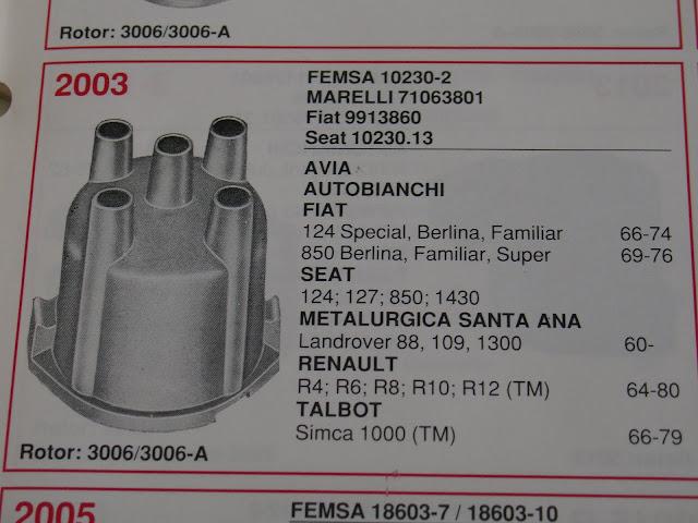 JUEGO  PLATINOS DELCO-MARELLI-FEMSA SEAT 127