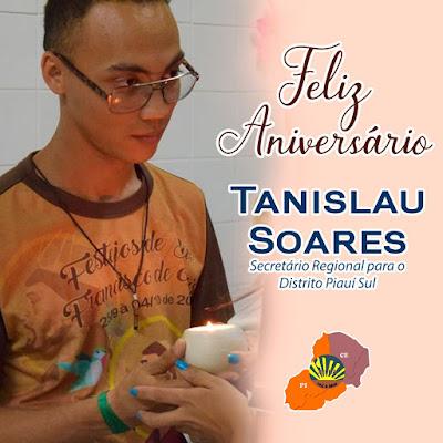Feliz Aniversário Tanislau Soares!
