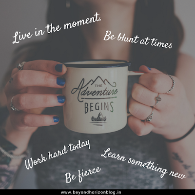 live in the moment | positive affirmations