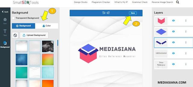 cara membuat logo secara online