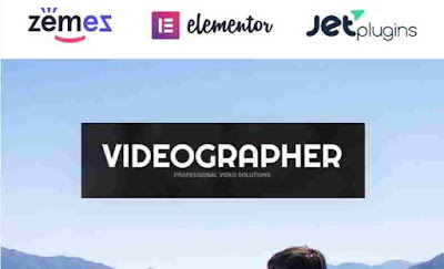 vidiographer Portfolio Wabsite Vidio theme