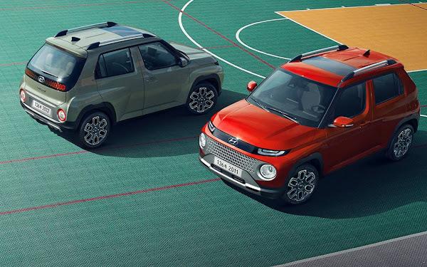 Hyundai Casper: SUV compacto abaixo de 4 metros para enfrentar o Kwid